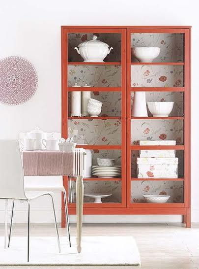 Renueva tus muebles con papel pintado rinova i tuoi - Forrar muebles con papel pintado ...
