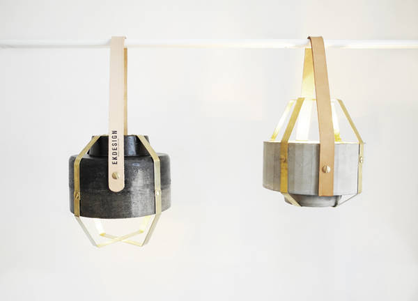 Wander Lamp by Katharina Eisenkoeck