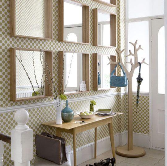 Ideas geniales para decorar con espejos grandi idee per decorare con specchi alba montes - Decorar pasillos con espejos ...